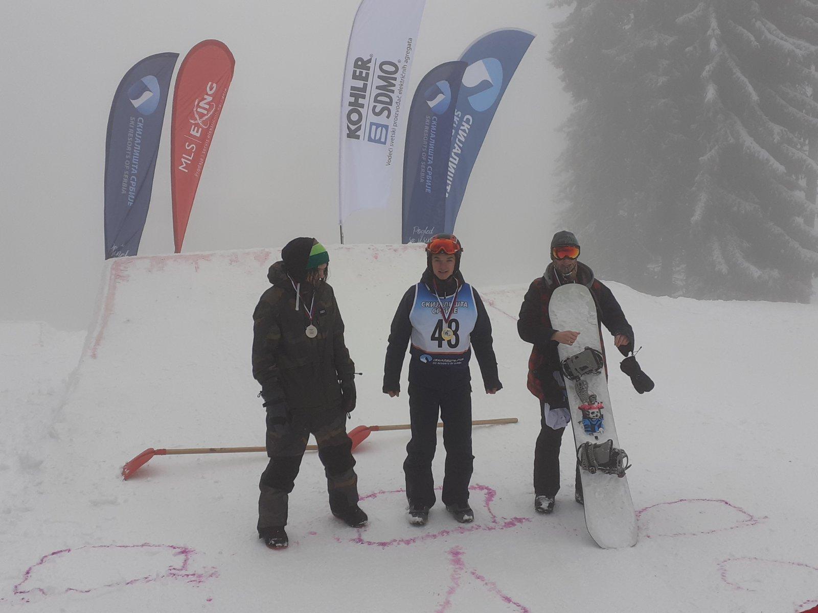 "Photo of Snouborderi iz Ski i snoubord kluba ""Stara planina"" uspešni na Kopaonicu na ABC kupu"