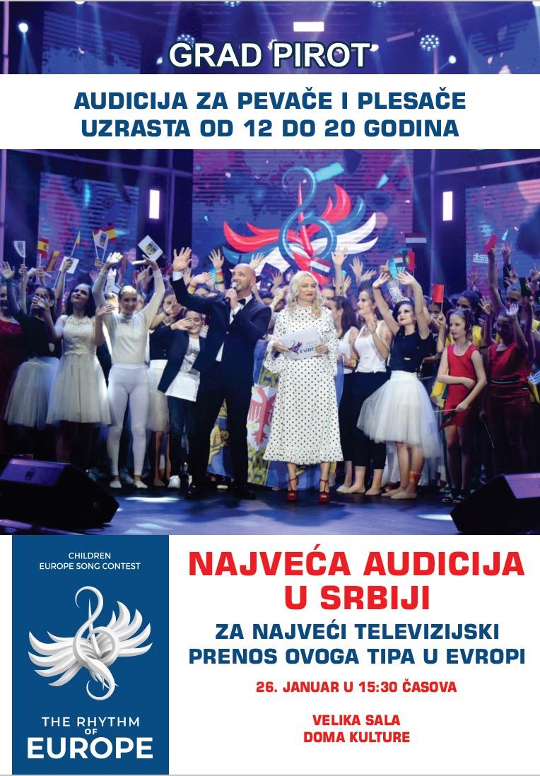 """Photo of Izabrani predstavnici Pirota za takmičenje """"Srbija u ritmu Evrope"""""""