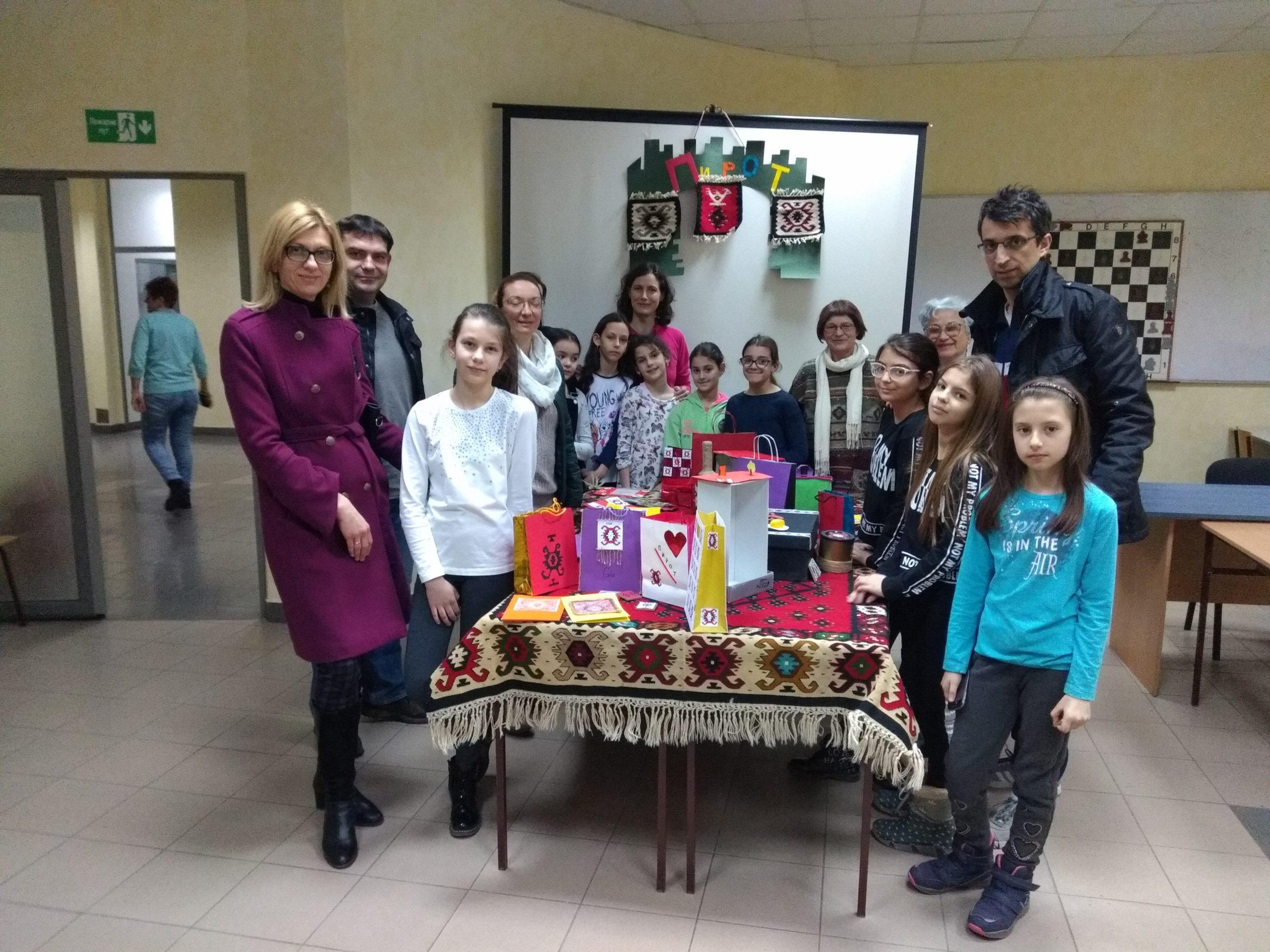 Photo of Pirot – grad šara, kreativna radionica u okviru Božićne škole sporta