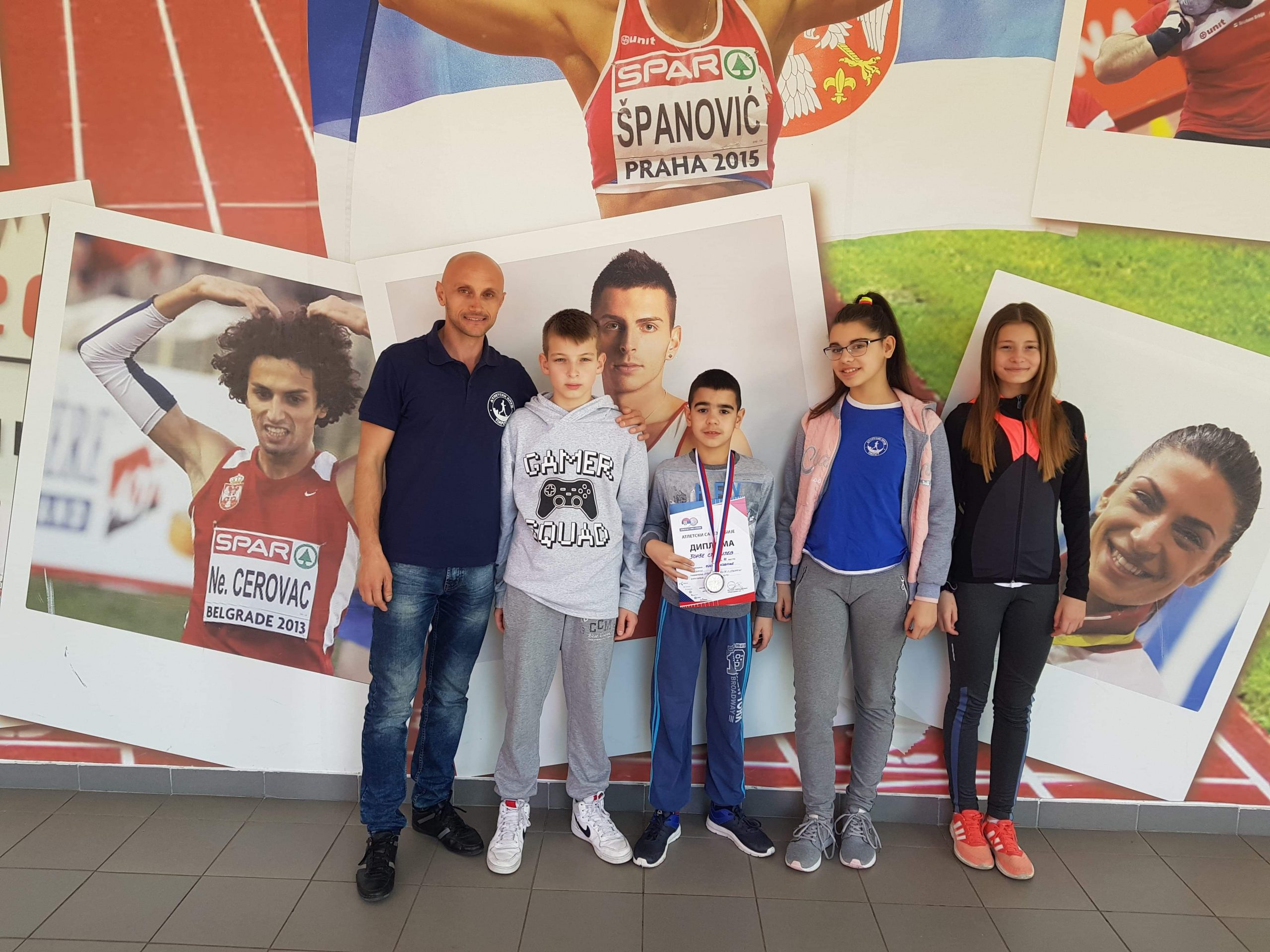 Photo of Pirotske atlete uspešne na Prvenstvu Srbije u dvorani. Djorđe Stanijev osvojio srebro