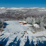 Gradsko skijalište kod Planinarskog doma - pravo mesto za uživanje u zimskoj idili (foto, video)