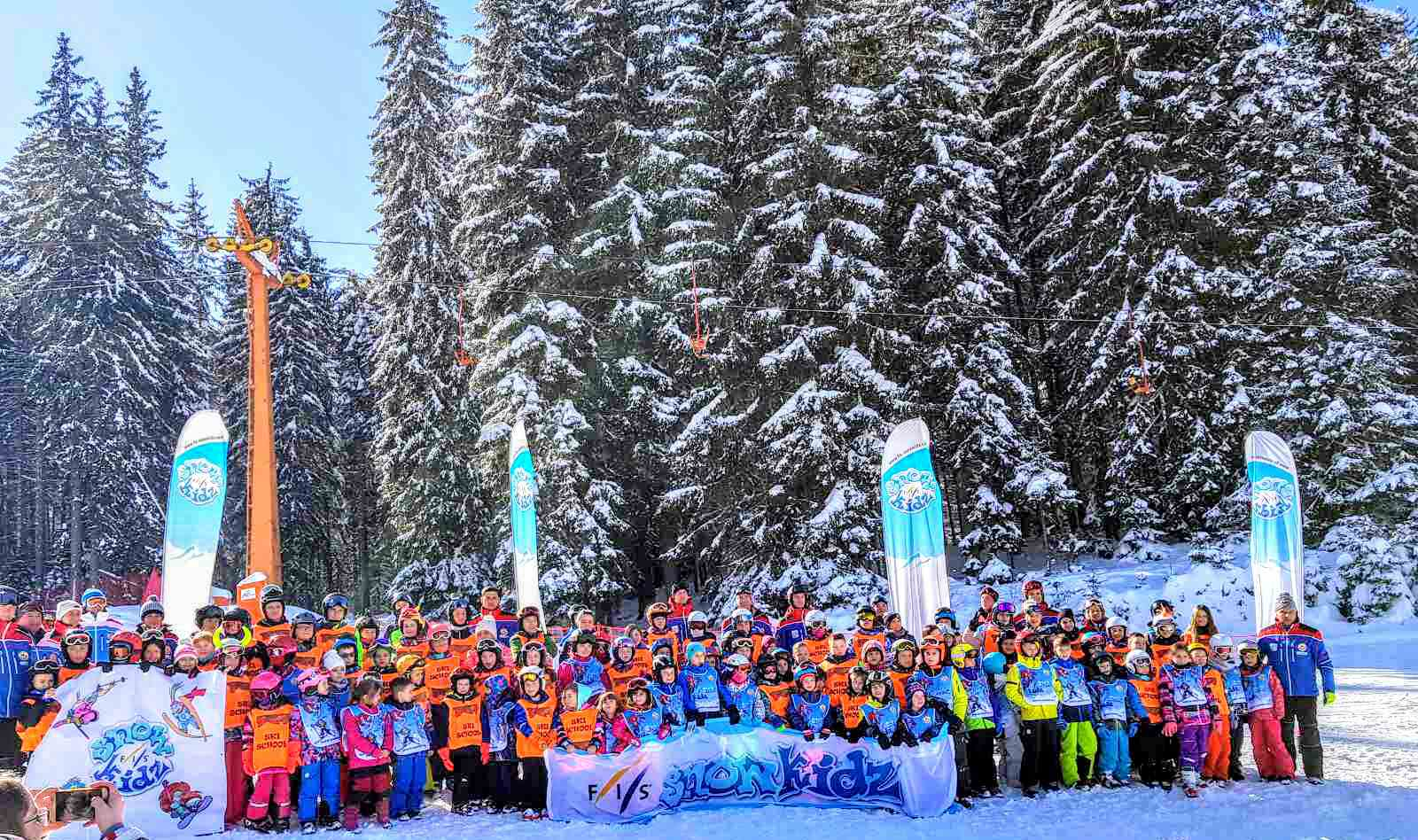 "Photo of SK Midžor: Na Ski kampu ""Pamporovo 2020."" učestvovalo 420 mališana"