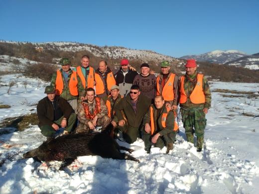 Photo of Pirotski lovci danas odstrelili osam divljih svinja