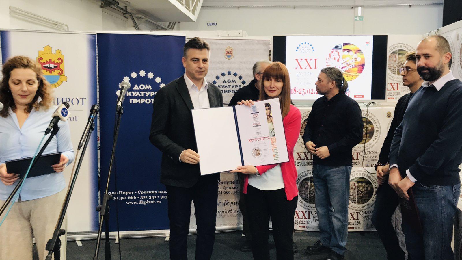 Photo of Nagrade izdavačima Data status, Prometej i Sezam buk