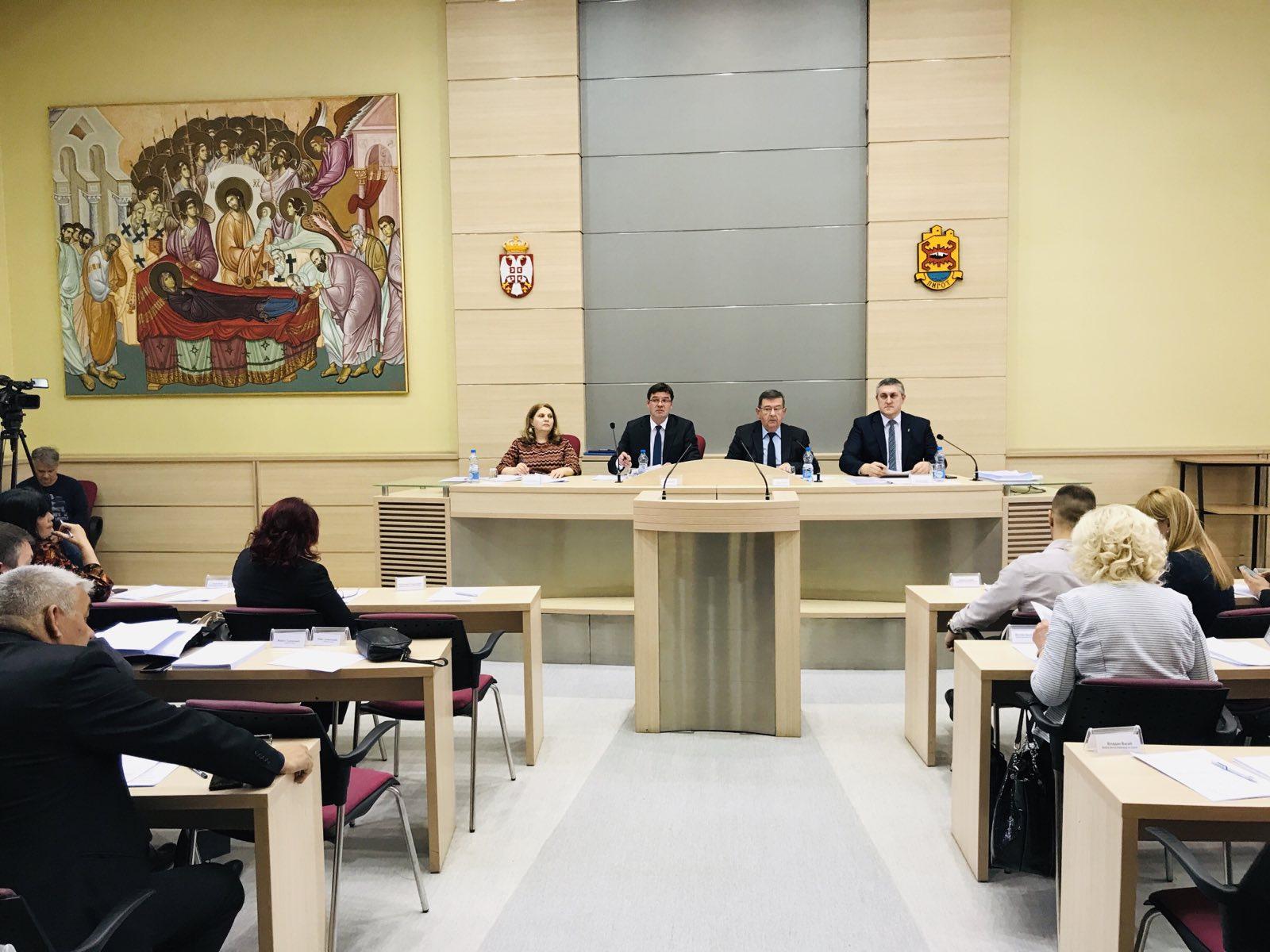 Photo of Održana poslednja sednica Gradskog parlamenta pred opšte izbore