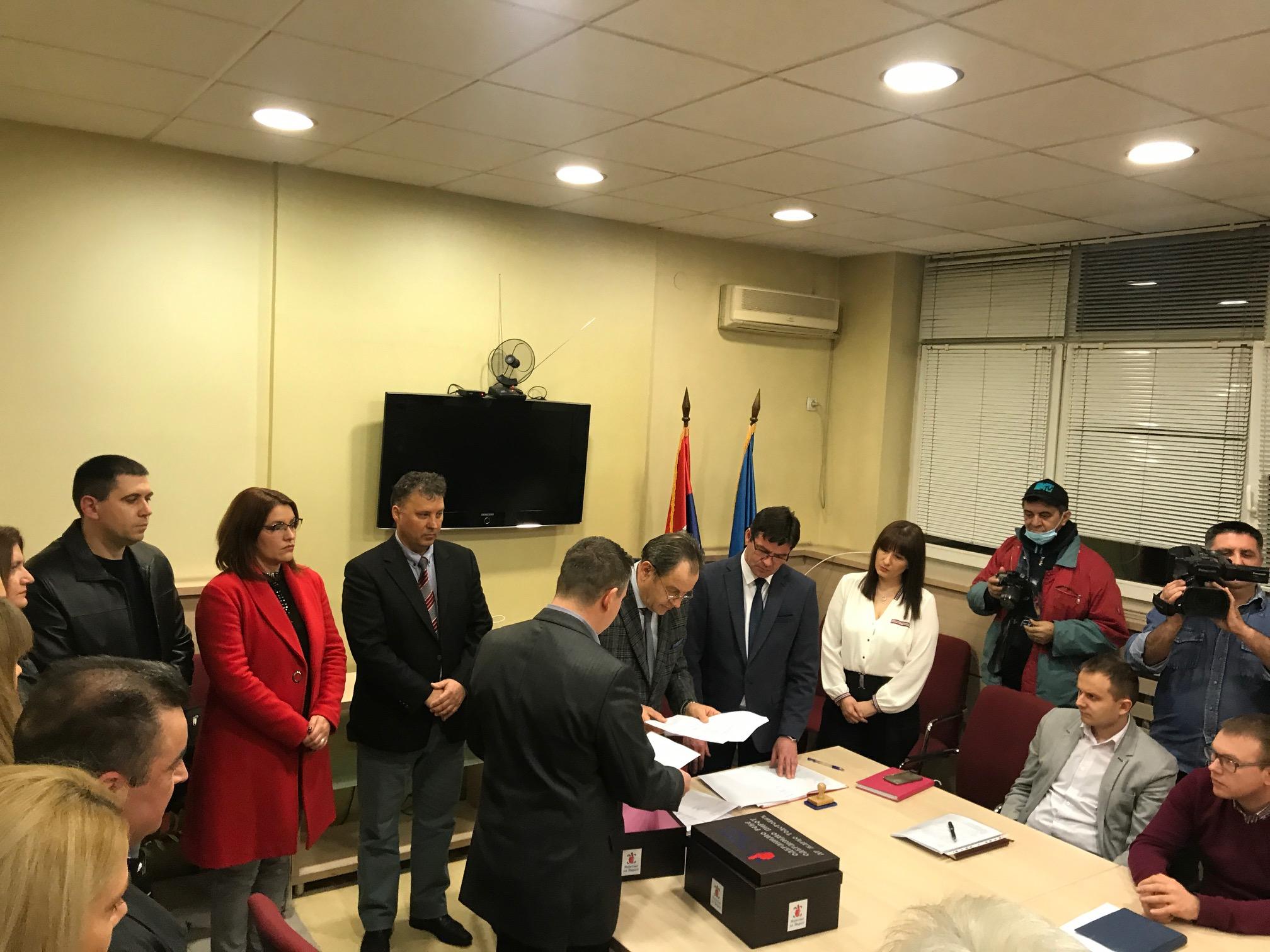 "Photo of GG ""Najbolje za Pirot"" večeras podnela izbornu listu za lokalne izbore"