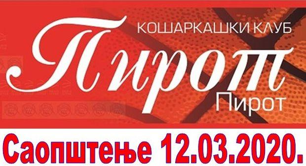 Photo of Košarkaši u Pirotu igraju utakmicu bez publike
