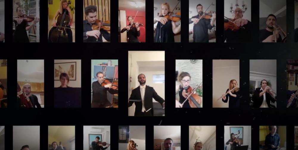 """Photo of Muzičari iz Novog Sada uputili snažnu poruku celom svetu: """"Ostanimo kod kuće"""" #StayAtHome"""