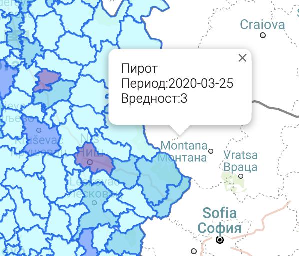 Photo of Tri slučaja korona virusa u Pirotu, po jedan u Dimitrovgradu i Beloj Palanci