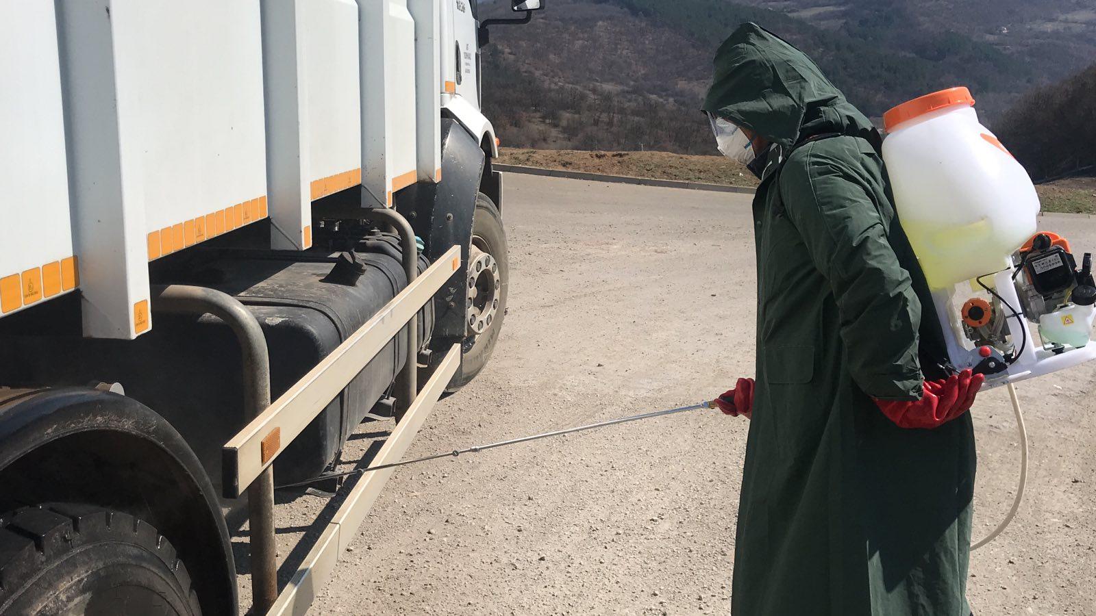 Photo of Regionalna deponija Pirot: Dezinfekcija svih kamiona koji ulaze i napuštaju deponiju