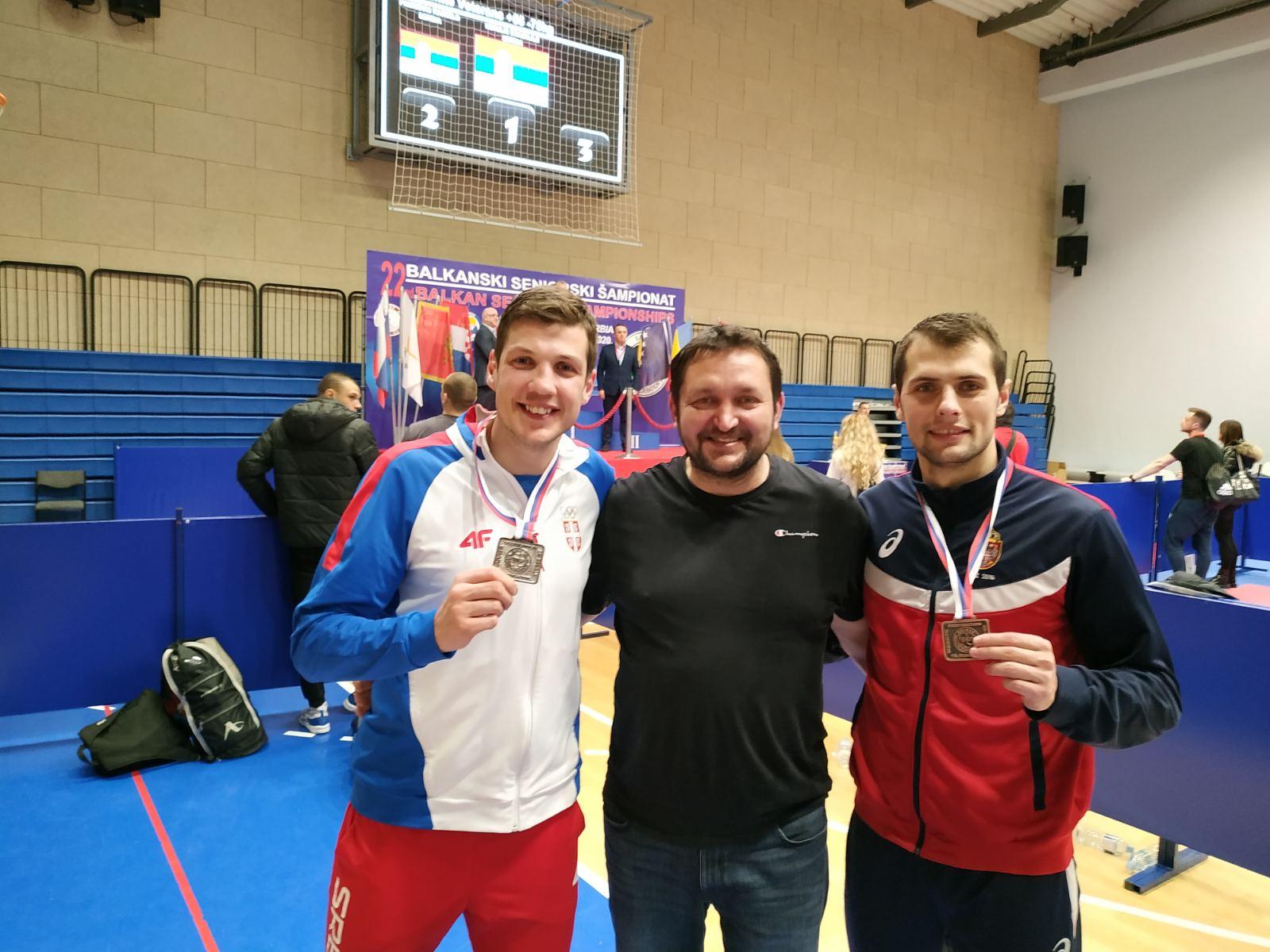 Photo of Uroš osvojio bronzu na Seniorskom prvenstvu Balkana za seniore u Beogradu