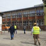 """Radovi na drugoj fazi rekonstrukcije OŠ """"8. septembar"""" u toku, radi se i na kanalu Rogoz"""
