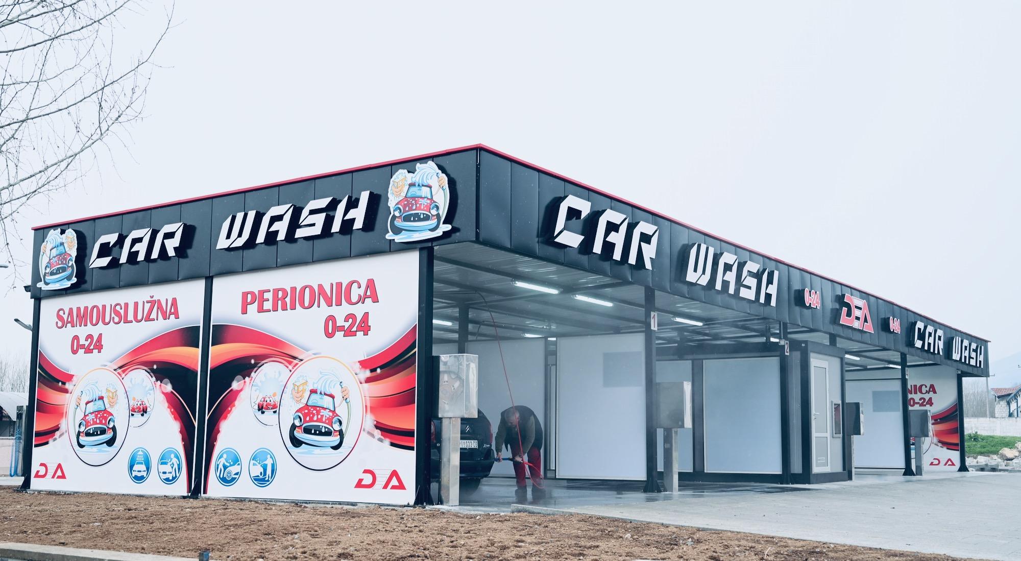Photo of Samouslužna perionica DEA Car Wash počela sa radom. Najjeftinije pranje auta u gradu. Uskoro na jednom mestu i restoran, prvi auto-plac u gradu