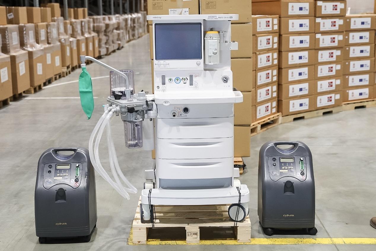Photo of Od Evropske unije i Norveške stižu respiratori i monitori vredni 4,5 miliona evra