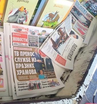 Photo of Novine:Dvobroj, trobroj, a sutra četvorobroj
