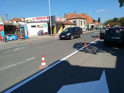 Photo of Nova horizontalna signalizacija u Ulici Nikole Pašića