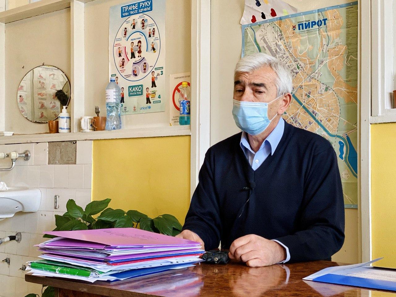 Photo of Tijabarska ambulanta prima pacijente sa simptomima karakterističnim za korona virus