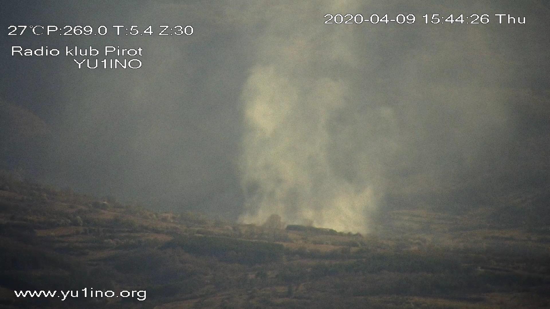 Photo of Piromani ne miruju. Kamere Radio kluba Pirot svakodnevno detektuju požare u pirotskom polju