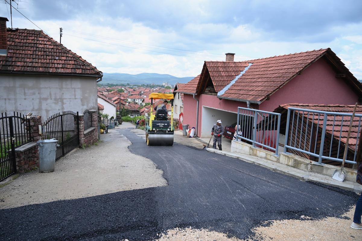 asfalt dobrodolska ulica pirot
