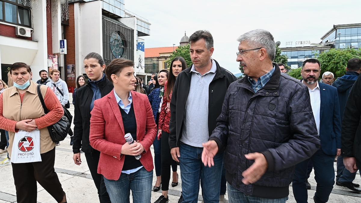 Brnabić, Vasić i Petrović