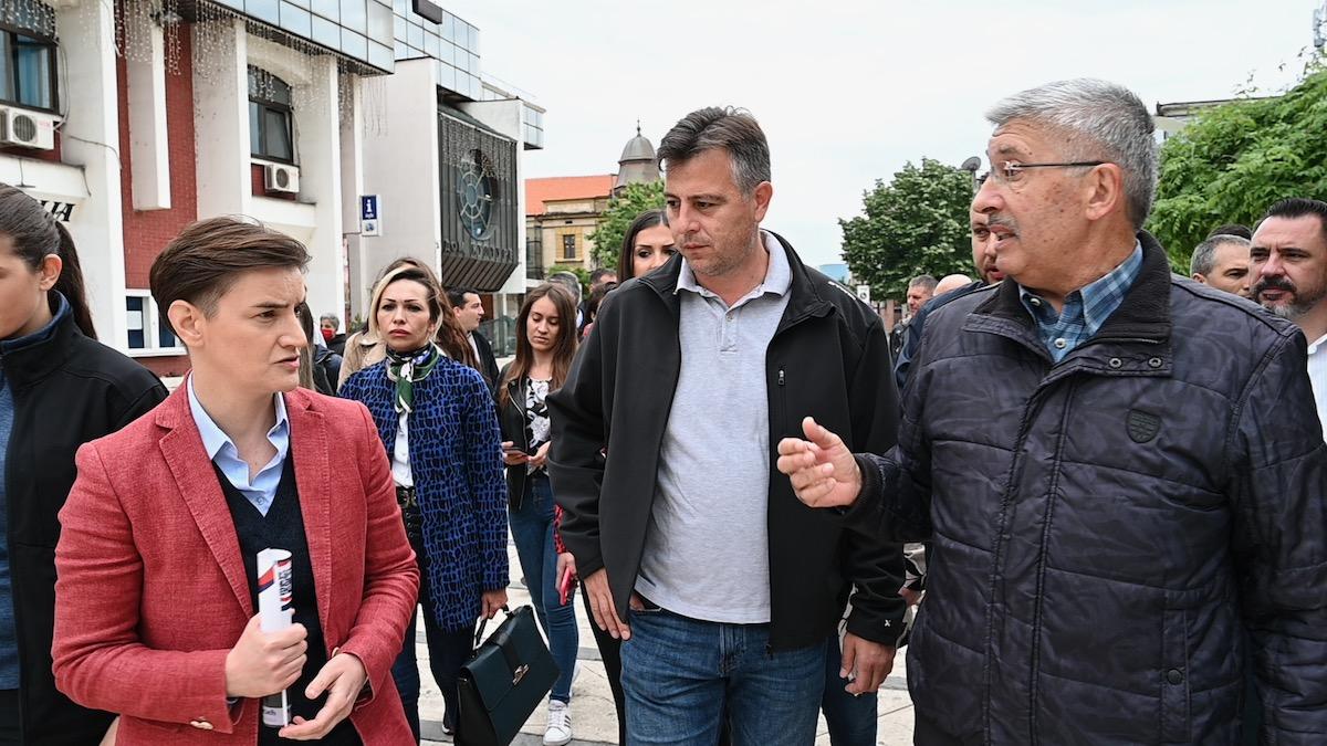 Brnabić, Vasić, Petrović