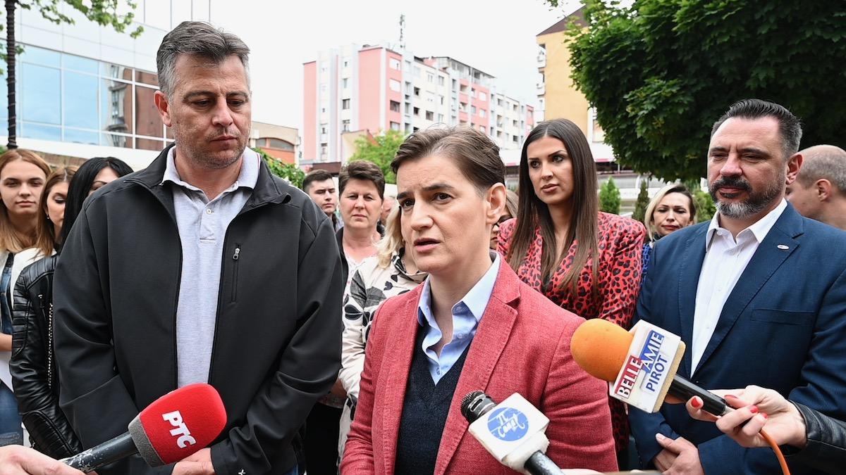 Ana Brnabić u Pirotu