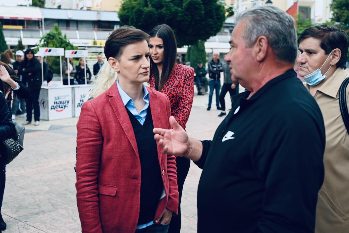Premijerka Ana Brnabić u Pirotu