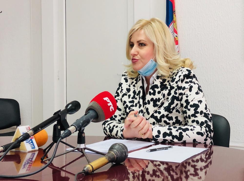 Načelnica Pirotskog upravnog okruga Dragana Tončić