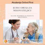 Akademija Oxford u Pirotu: Kursevi za negovatejlice sve traženiji