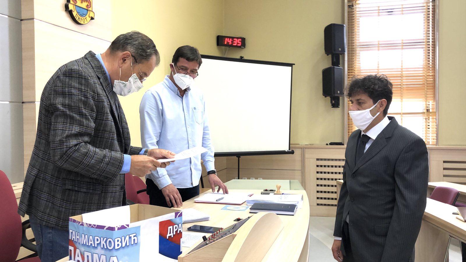 JS predala listu kandidata za odbornike