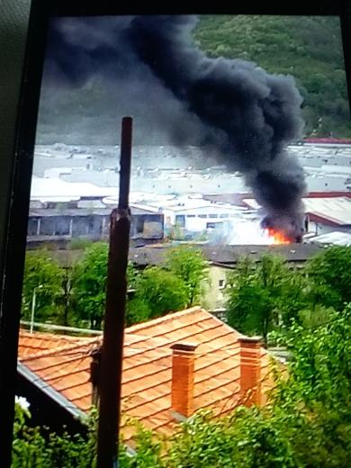 Photo of Požar u pomoćnom objektu u nekadašnjem Dragošu
