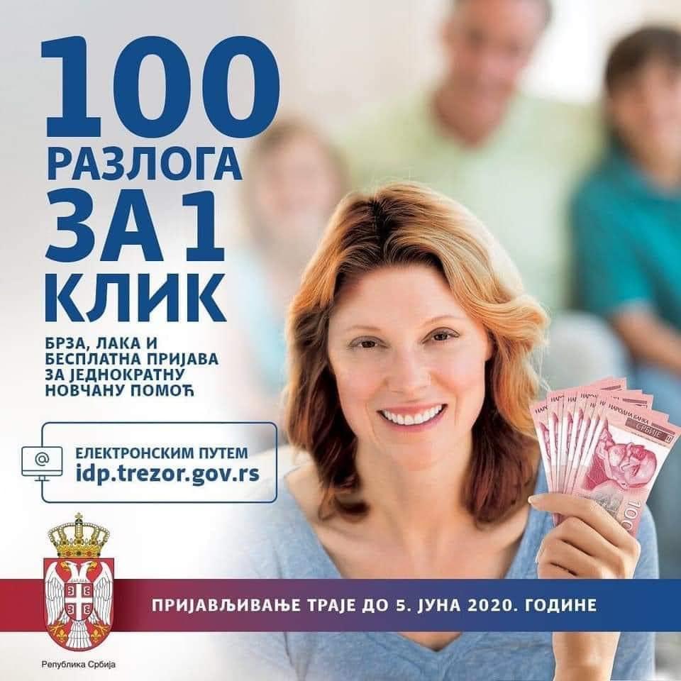 Photo of Čak milion prijava za pomoć od 100 evra