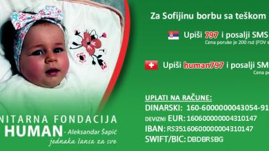 Photo of Maloj Sofiji neophodan je najskuplji lek na svetu. Pomaže cela Srbija, postavljene kutije za priloge i u Pirotu