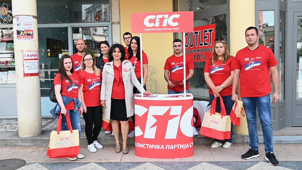 Socijalisti u Pirotu