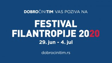 Photo of Festival dobročinstva od 29. juna od 4. jula