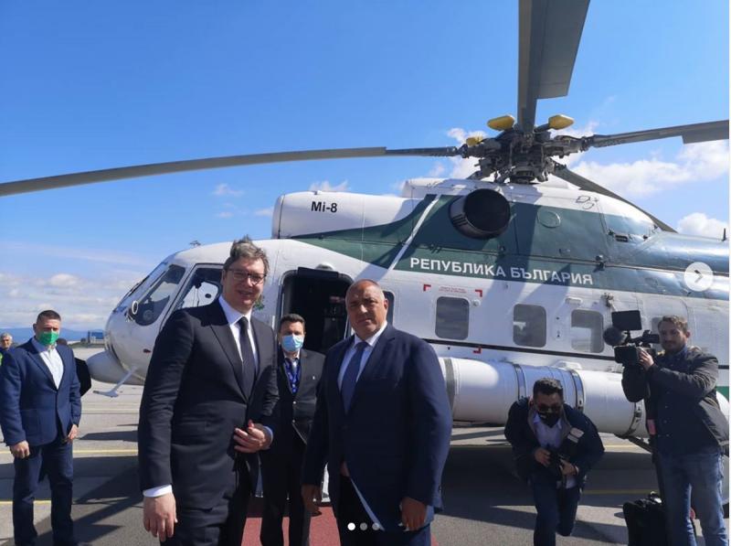 Borisov i Vučić