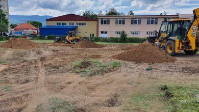 Photo of Nove zelene površine u gradu. Uređuje se prostor između Tehničke škole i pič terena