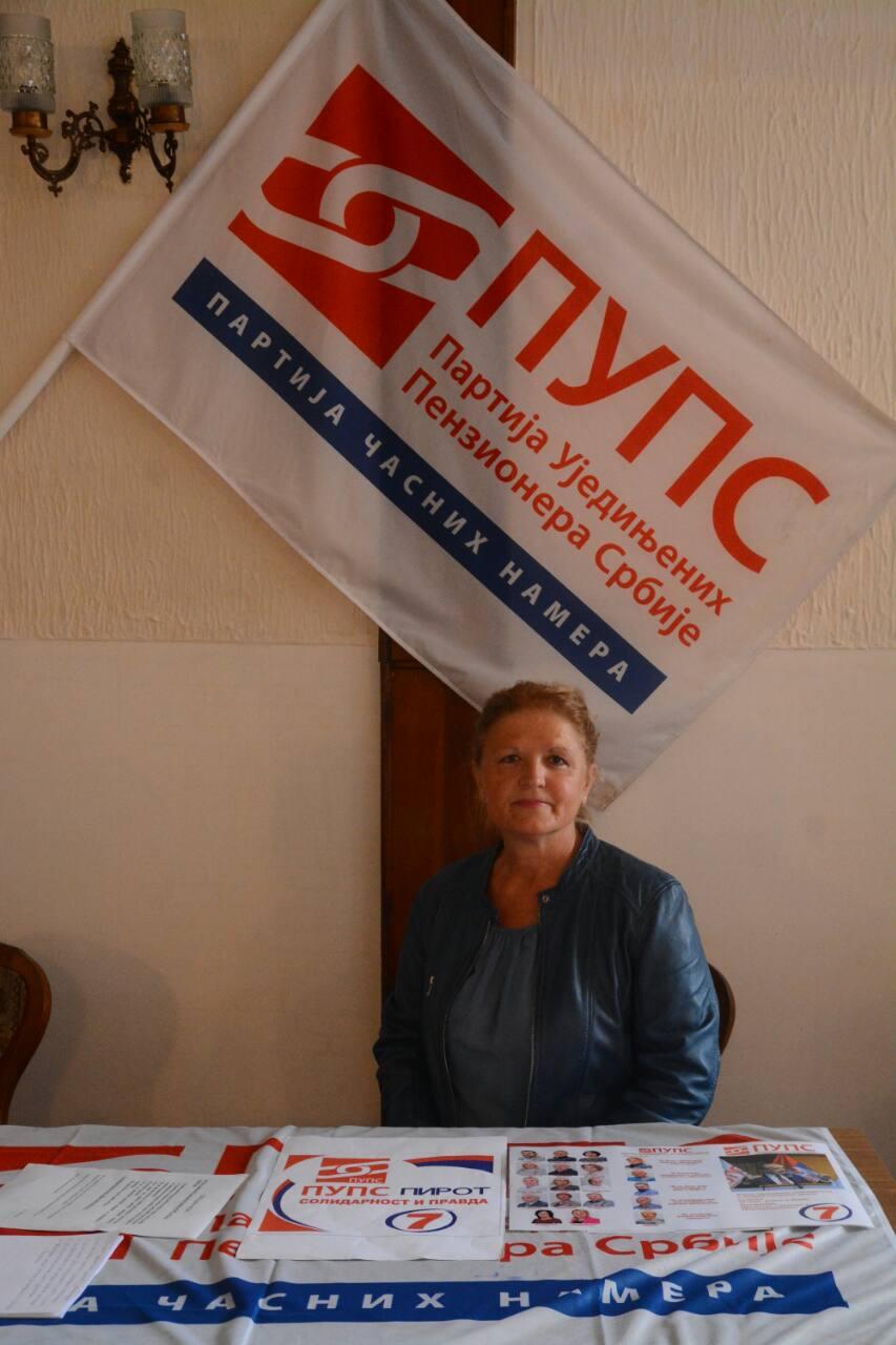 PUPS u Pirotu - lokalni izbori 2020.