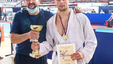 """Photo of Uroš po četvrti put prvak Srbije u karateu. Osvojio """"Zlatni pojas"""" u kategoriji do 84 kilograma"""