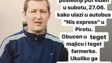 Photo of DELITE! Nestao naš sugrađanin Vladica Kostić! Od subote mu se gubi svaki trag