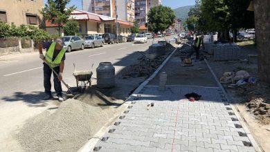 """Photo of Novi trotoari u Ulici Lava Tolstoja, pravi se """"zeleni pojas"""" kod Rode"""