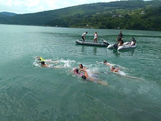 zavojsko jezero stara planina takmicenje plivanje ronilacki klub pirot