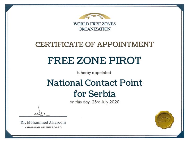 slobodna zona pirot / nacionalna kontakt tacka