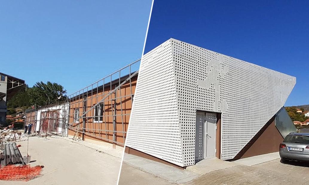 Renovirane prostorije sportskog kompleksa u Dimitrovgradu- pre i posle