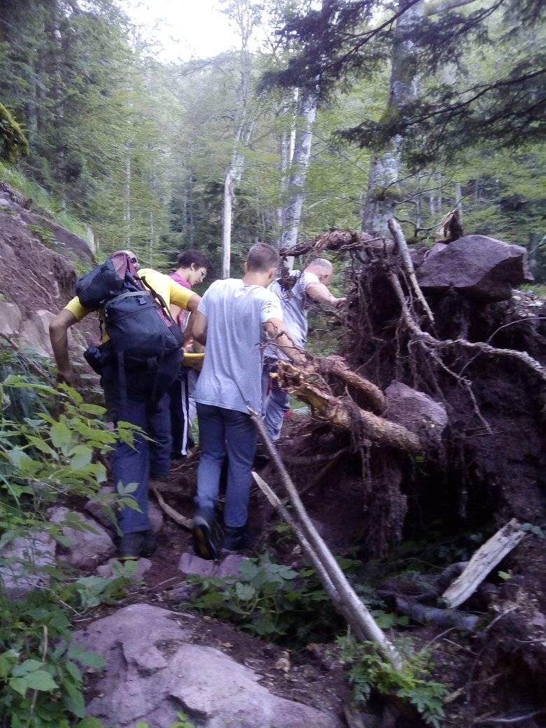 spasavanje planinarke