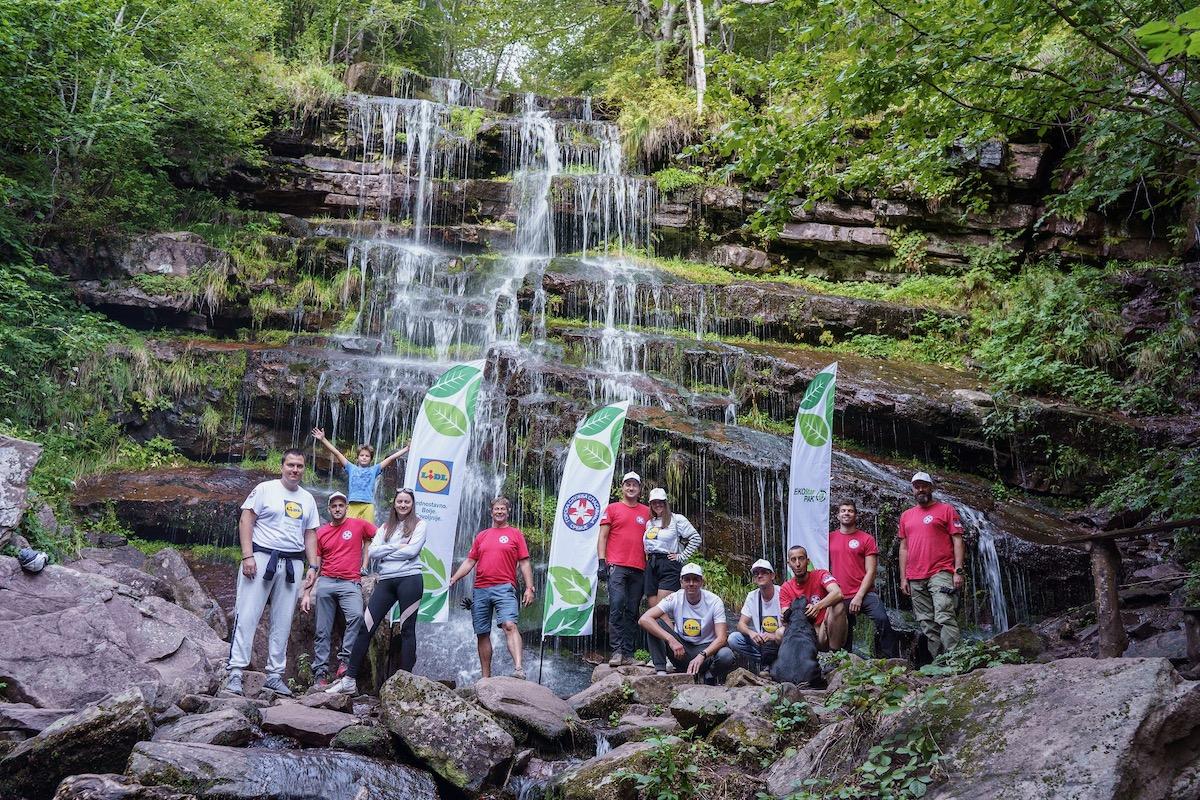 lidl akcija čišćenja prirode stara planina vodopad tupavica