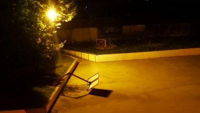 """Photo of Noćas """"stradao"""" koš u Ustaničkoj ulici"""