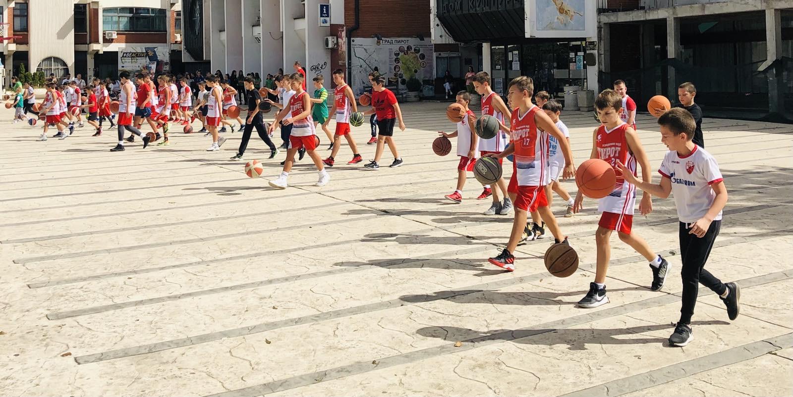 sportski izazov košarka pirot