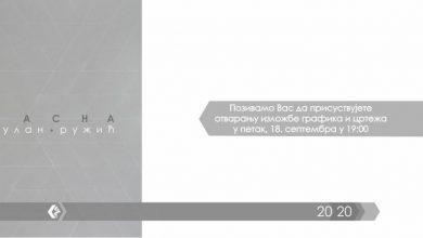 "Photo of Galerija ""Čedomir Krstić"": Izložba grafika i crteža Jasne Gulan Ružić"