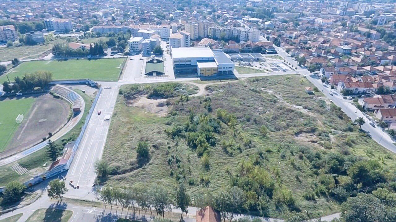 veliki sportski kompleks u naselju Senjak